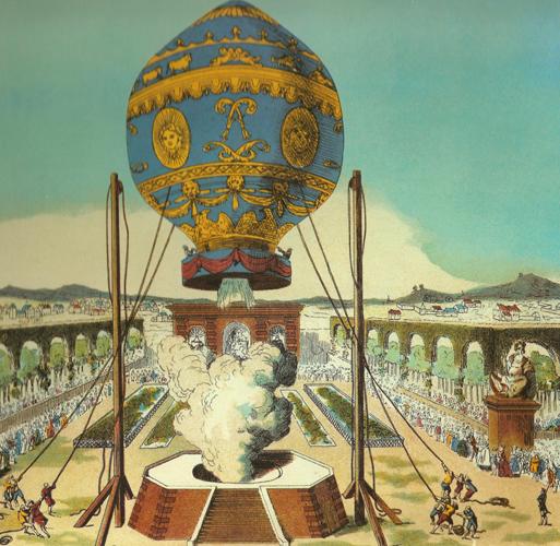 balloon-04-Montgolfier_brothers_flight