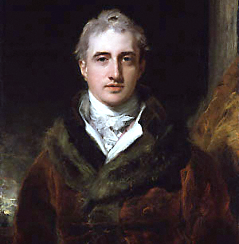 Lord Castlereagh of Great Britain
