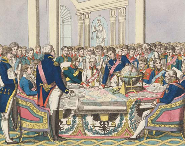Negotiations at the Congress of Vienna