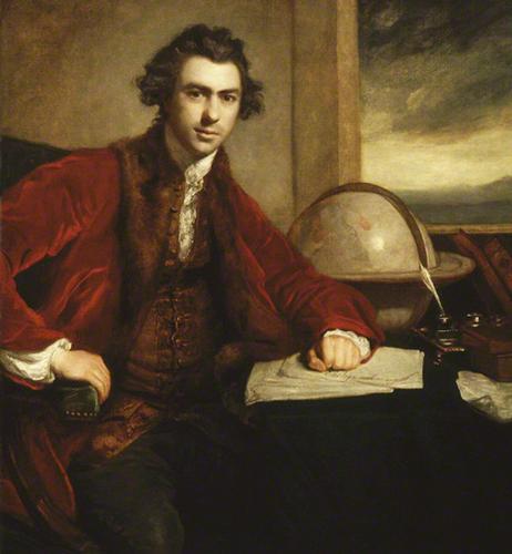 NPG 5868; Sir Joseph Banks, Bt by Sir Joshua Reynolds